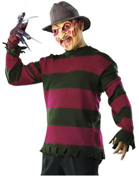 DELUXE FREDDY KRUEGER SWEATER COSTUME FOR MEN