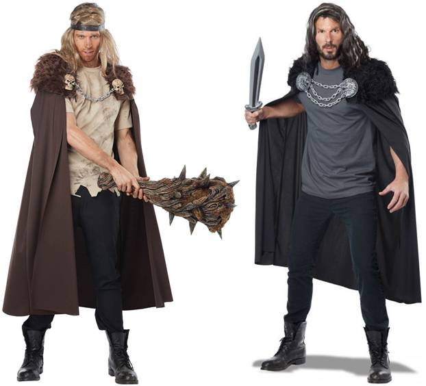 WARLORD COSTUME CAPE FOR MEN