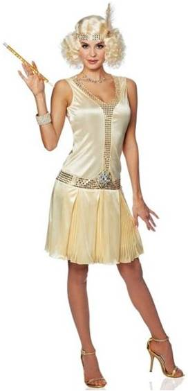 20s DEBUTANTE COSTUME FOR WOMEN