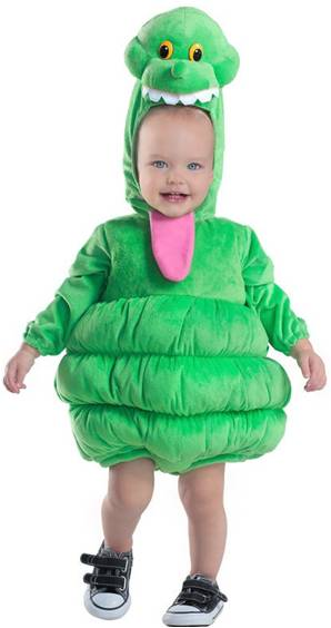 GHOSTBUSTERS SLIMER COSTUME FOR INFANTS NEWBORNS