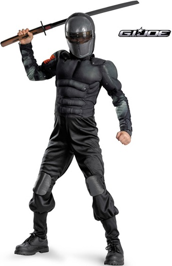 MUSCLE TORSO G.I. JOE SNAKE EYES