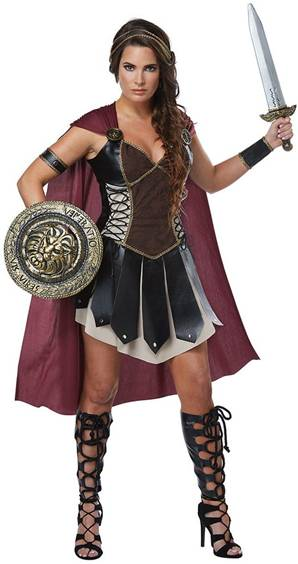 GLORIOUS GLADIATOR COSTUME FOR WOMEN