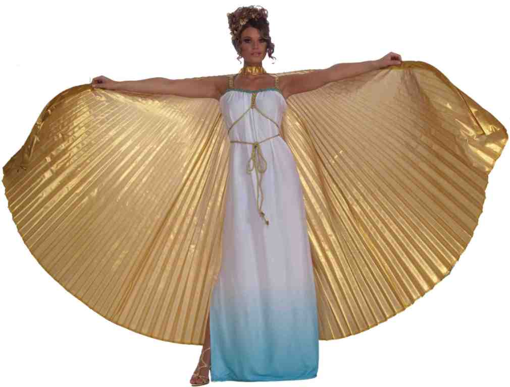 GOLD THEATRICAL WINGS CAPE