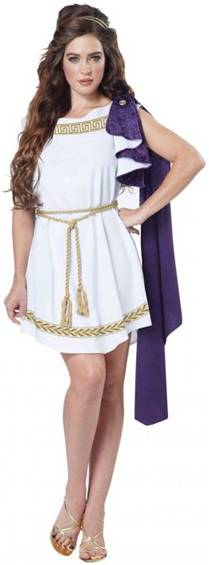 GRECIAN TOGA COSTUME FOR WOMEN