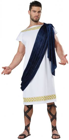 GRECIAN TOGA COSTUME FOR MEN