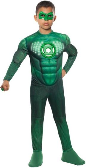LIGHT UP MUSCLE GREEN LANTERN