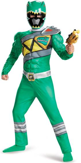 GREEN POWER RANGER DINO CHARGE