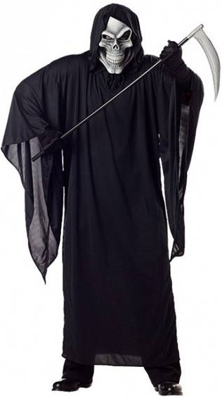 GRIM REAPER COSTUME FOR MEN