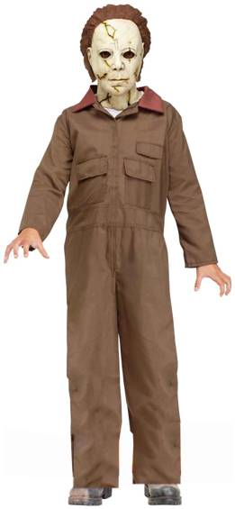 HALLOWEEN MICHAEL MYERS MOVIE COSTUME FOR BOYS