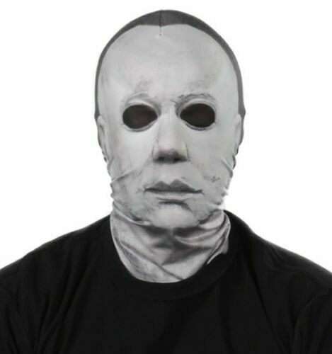 HALLOWEEN MICHAEL MYERS FAUX REAL MASK