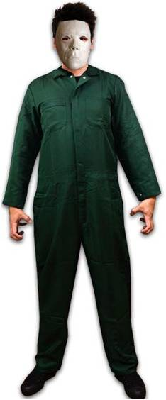 HALLOWEEN MICHAEL MYERS MOVIE COSTUME FOR MEN