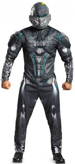 HALO DELUXE SPARTAN LOCKE COSTUME FOR MEN
