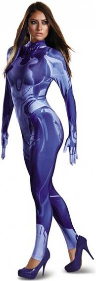 HALO WARS DELUXE SEXY CORTANA COSTUME FOR WOMEN