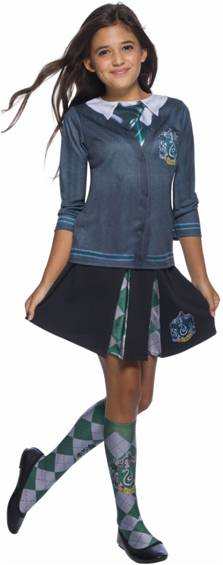 HARRY POTTER SLYTHERIN TOP FOR GIRLS
