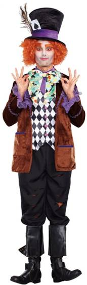 HATTER MADNESS MAD HATTER COSTUME FOR MEN