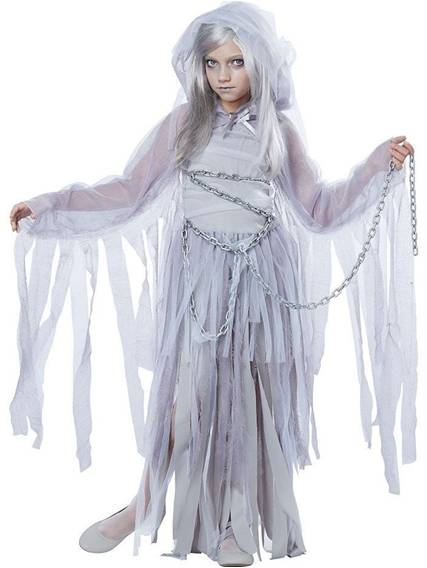 HAUNTED BEAUTY GHOST COSTUME FOR GIRLS