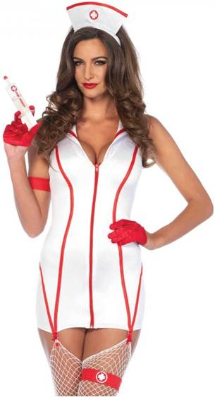 SEXY HEART STOPPIN' RN NURSE COSTUME FOR WOMEN