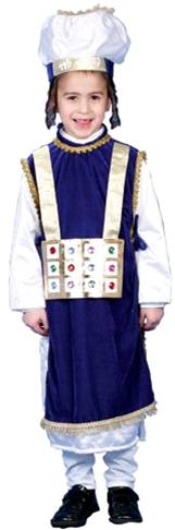 JEWISH HIGH PRIEST KOHEN GADOL PURIM COSTUME