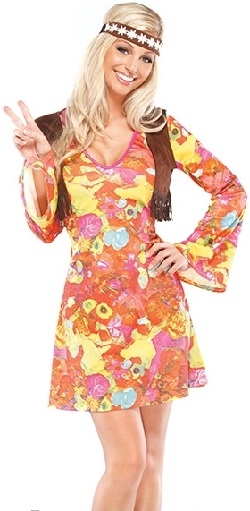HIPPIE DRESS WITH VEST
