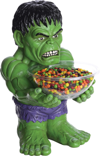 INCREDIBLE HULK CANDY BOWL