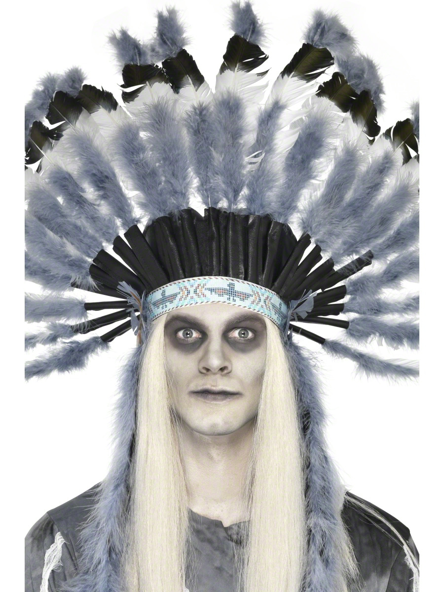 INDIAN GHOSTTOWN HEADDRESS FOR ADULTS
