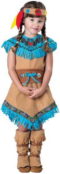 INDIAN GIRL COSTUME FOR GIRLS