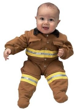 FIREFIGHTER ROMPER