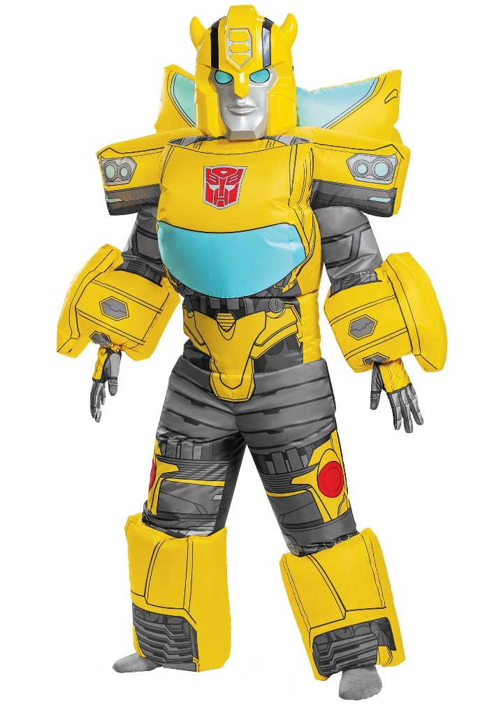 TRANSFORMERS INFLATABLE BUMBLEBEE COSTUME FOR KIDS