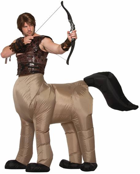 INFLATABLE CENTAUR COSTUME FOR MEN