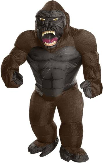 INFLATABLE KING KONG COSTUME FOR BOYS