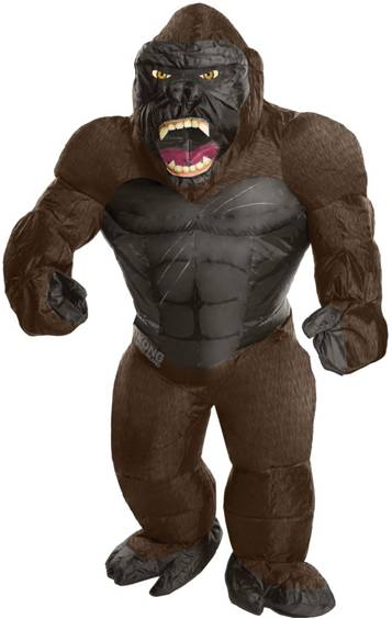 INFLATABLE KING KONG COSTUME FOR MEN