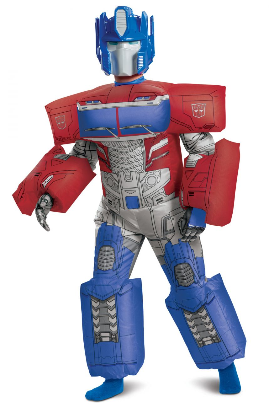 TRANSFORMERS INFLATABLE OPTIMUS PRIME KIDS COSTUME