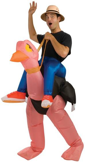 INFLATABLE OSTRICH
