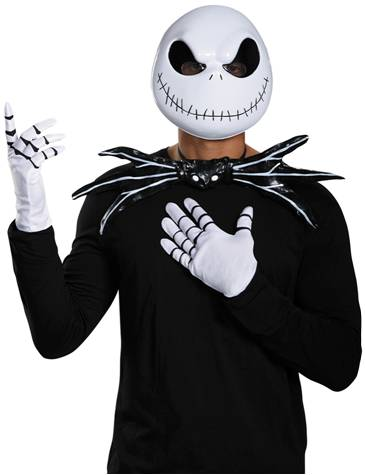 JACK SKELLINGTON COSTUME KIT FOR MEN
