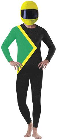 JAMAICAN BOBSLED COSTUME FOR ADULTS