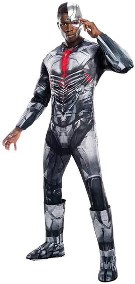 JUSTICE LEAGUE DELUXE CYBORG COSTUME FOR MEN