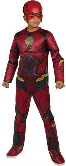 JUSTICE LEAGUE FLASH DELUXE COSTUME FOR BOYS