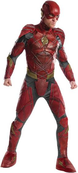 JUSTICE LEAGUE FLASH THEATRICAL COSTUME FOR MEN