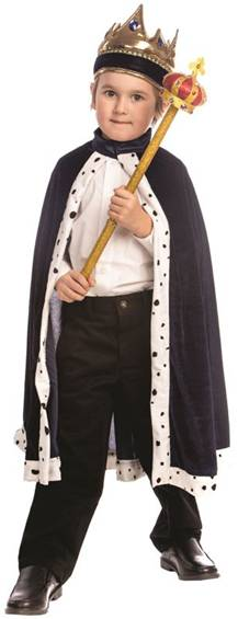 KING COSTUME SET FOR BOYS