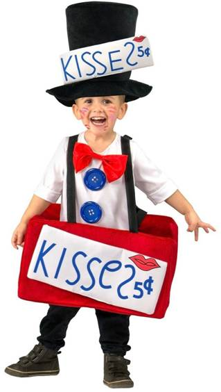 KISSING BOOTH COSTUME FOR TODDLER BOYS