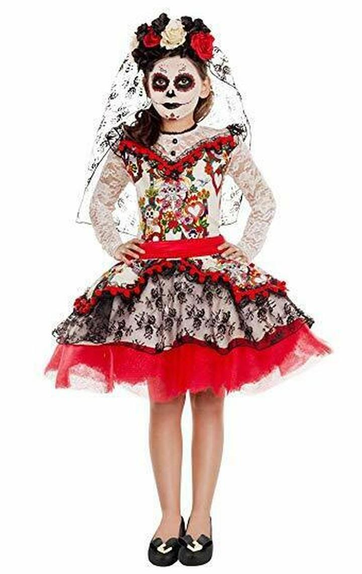 LA NOVIA DAY OF THE DEAD COSTUME FOR GIRLS