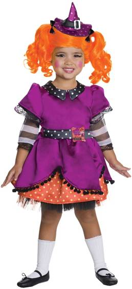 LALALOOPSY DELUXE CANDY BROOMSTICKS COSTUME