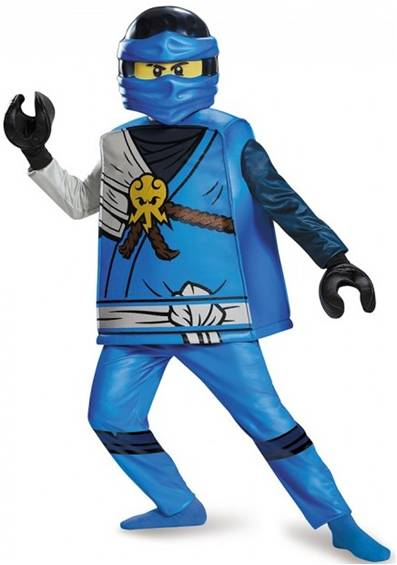 LEGO NINJAGO JAY DELUXE COSTUME FOR BOYS