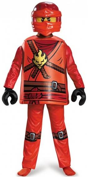 LEGO NINJAGO KAI DELUXE COSTUME FOR BOYS