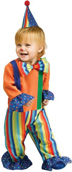 LI'L CLOWN COSTUME FOR TODDLERS