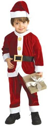 LIL' SANTA COSTUME FOR TODDLERS BOYS