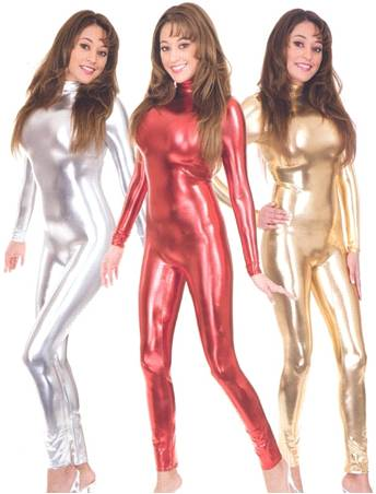 LIQUID METAL UNITARD