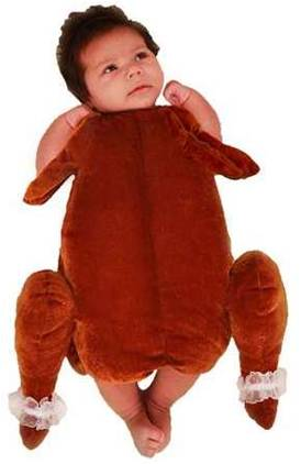 LITTLE TURKEY COSTUME FOR NEWBORNS