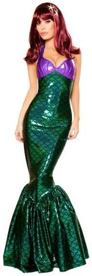 SEXY MERMAID COSTUME FOR WOMEN
