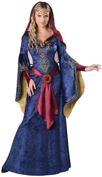 MAID MARIAN COSTUME FOR WOMEN